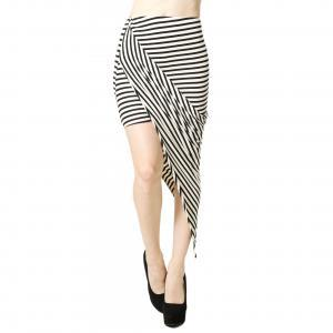 FOXY STRIPE SKIRT