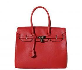 BRITISH HAND TOTE BAG (Red)